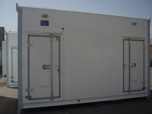 Vahdat TC Conex with Battery Room