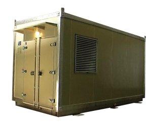 Vahdat TC Diesel Generator Conex